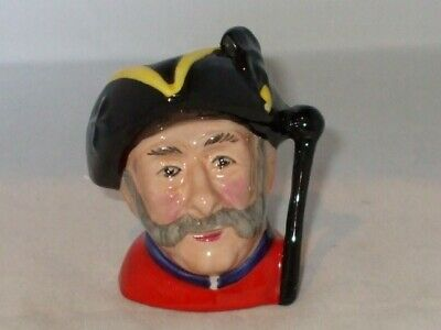 AUDLEY POTTERY Miniature Chelsea Pensioner Toby/Character Jug • 7.50£