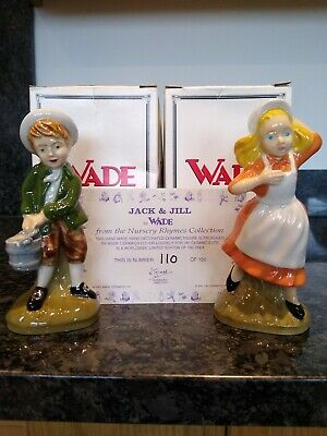 Wade Collectable - Jack & Jill Nursery Rhymes Ltd Edition No 110 Of 150 • 9.03£