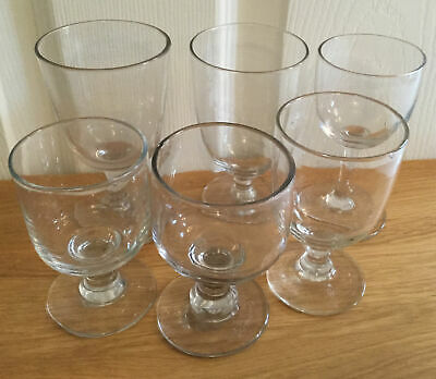 Interesting Good Lot Antique 19th Century Pub Rummer Or Ale Glasses Gadget Marks • 10.50£