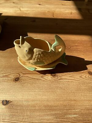 Shorter And Son Fish Shaped Sauce Boat And Drip Plate • 7.50£