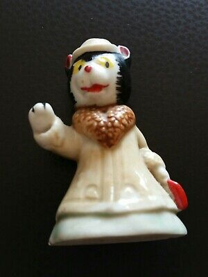 Wade Miss Fluffy Cat Figure Noddy Collection Figurine Enid Blyton 1950s Vintage  • 1.25£