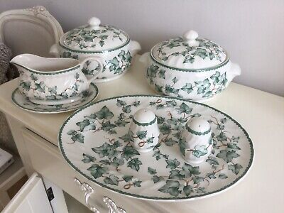 Bhs Country Vine Tureens, Serving Dish, Gravy Jug And Salt And Pepper Pots • 30£