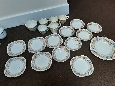 Colclough Bone China Tea Set • 10£