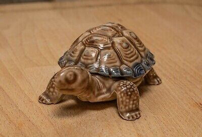 Vintage Wade Tortoise Trinket Box With Shell Lid • 0.99£