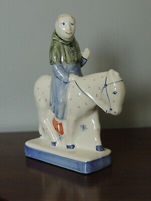 Rye Pottery Canterbury Tales The Friar Signed Figurine • 75£
