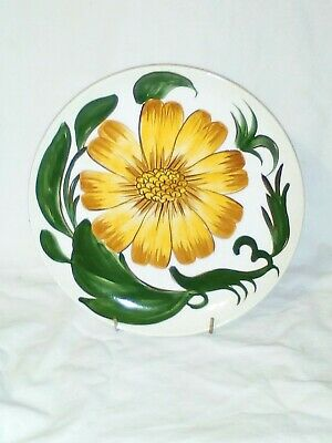 Wade Royal Victoria Pottery Capri Hand Painted Plate 9.5  • 3.50£