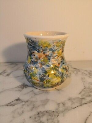 Cinque Rye Ports Pottery Monastery Small Vase Watercolour Impressionism • 14£