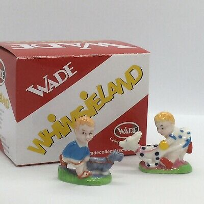 💛'wade' C & S Whimsieland 'mabel Lucy Attwell' Characters 'sam & Sarah' Boxed! • 45£