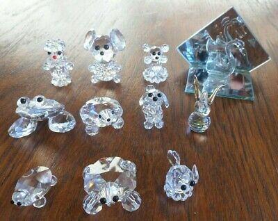 Crystal Miniature Animals  (mixture 11) • 8£