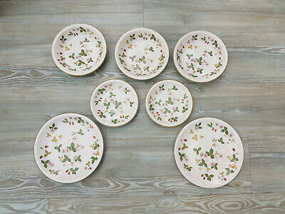 Wedgwood Oven To Table Wild Strawberry Plates & Bowls - Excellent Condition • 8£