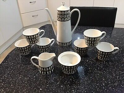 Lovely ROYAL TUSCAN - CONCERTO Coffee Set • 40£