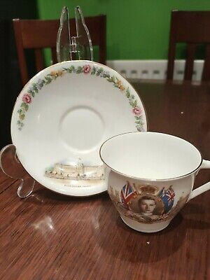 Aynsley King Edward V111 Coronation Cup,  1937 Tea Cup. Empire Excellent • 17.95£