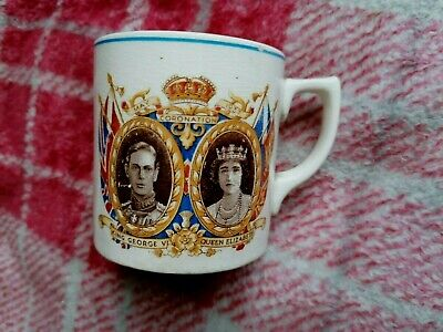 Coronation 1937 Cup By T G Green Mayor Of Burton • 0.99£