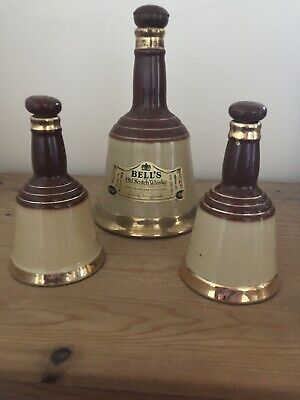 Set Of Bells Whisky Bell Jars Wade Pottery • 7.95£