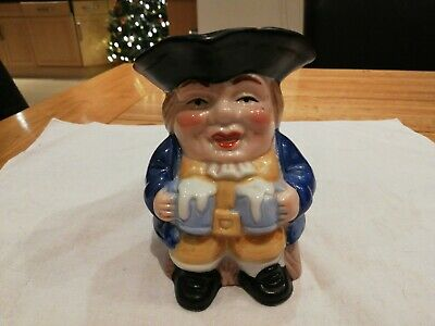 Vintage Toby Jug From The Leonardo Collection, Publican / Landlord 12cm High • 3£