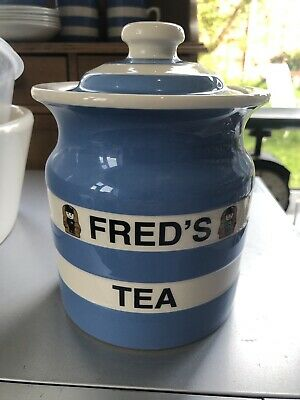 T G Green Cornishware Fred's Tea Special Edition Of 500 • 29.99£
