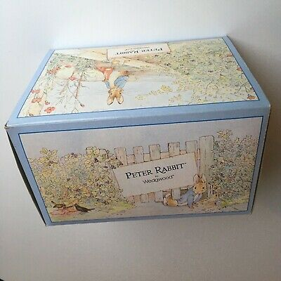 MINT Wedgwood Peter Rabbit Children's Nursery Ware Tea Set Boxed Unused Vintage • 89.99£