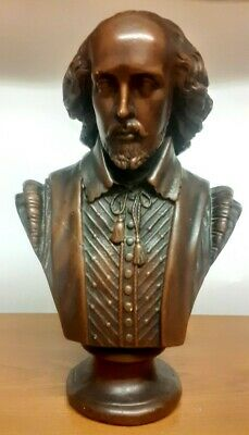 Vintage  Bust Of Shakespeare  • 14£
