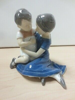B& G Denmark Model 1568 Mother And Son Ornament Figurine S29 • 5.50£