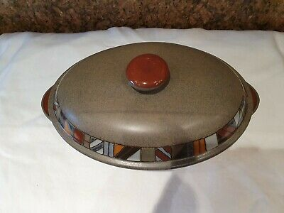 Denby Marrakesh Lidded Serving Dishes Excellent Condition Brareley Used • 21£