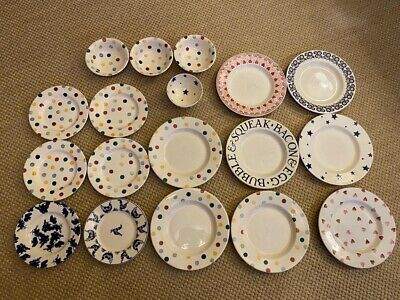Emma Bridgewater - Mixture Of Plates And Bowls • 18£