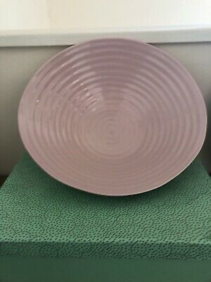 Reduced Sophie Conran Portmeirion Large Pink Salad Bowl Boxed • 14.95£
