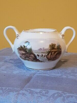 Sugar Bowl With Landscapes • 18£