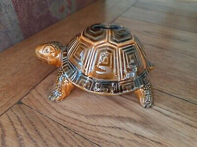 Vintage Szeiler Pottery Tortoise Money Box Hand Painted • 15£