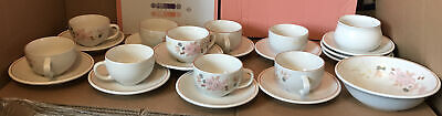Boots Hedge Rose 9 Cups, 12 Saucers, 1 Sugar Bowl And 1 Bowl Good Condition  • 24.99£