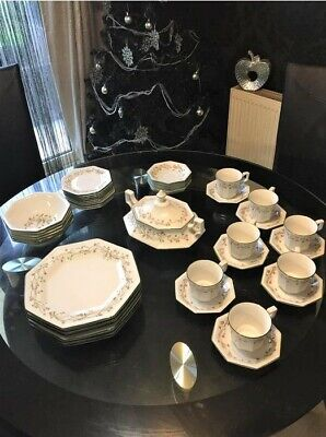 Eternal Beau  Johnson Brothers Made In England Dinner Set • 40£