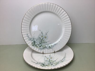 Royal Stafford Blossom Time Floral 2 X Dinner Plates Superb Condition 26 Cm • 11.99£