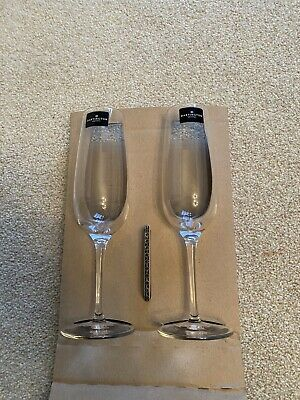 Dartington Crystal Champagne Flutes (pack Of 2) • 5£