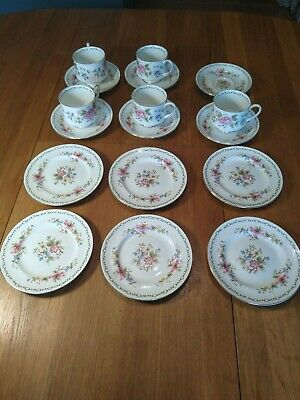 Vintage Paragon Tay' San Tea Service Cups, Saucers And Tea Plates • 10.40£