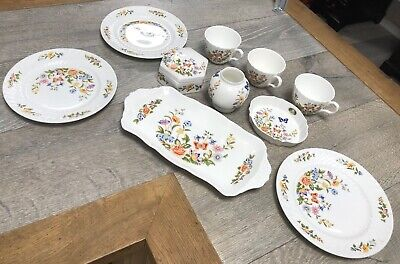 Aynsley Bone China Cottage Garden Various Items Good Condition • 17.10£