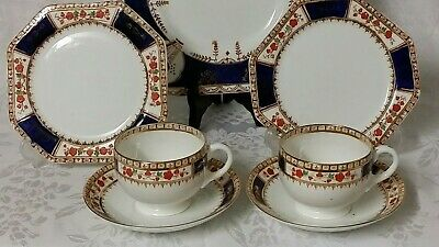 Lawley 2 Trios Teaset And Royal Vale Cake Plate 3703 • 14.99£