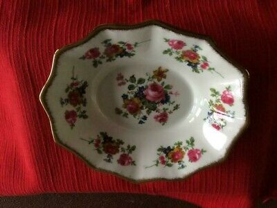 English Bone China Fenton Floral Dish • 3.99£