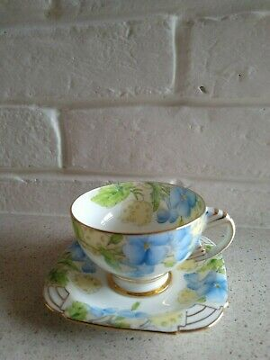 Paragon Art Dec Style Honesty Coffee Cup And Saucer. (2) • 24£