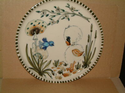 Jersey Pottery Delightful Little Hand Painted Plate • 12.99£
