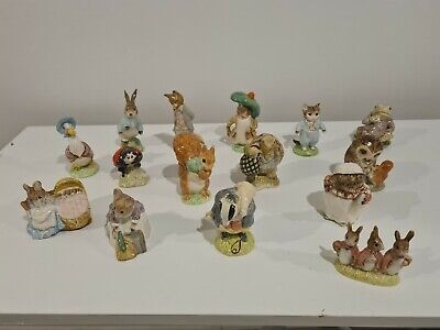 Royal Albert Beatrix Potter Figurines Collection, Used But Good Condition • 50£