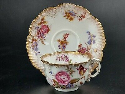 Hammersley Dresden Sprays Tea Cup And Saucer  • 32£