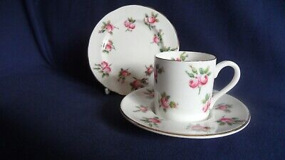 Hammersley Coffee Can Cup With Trembleuse Saucer And Matched Small Plate. • 24.95£