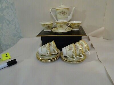 Vintage Noritake China Coffee Set From Japan  • 8£