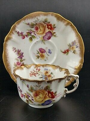 Hammersley Dresden Sprays Tea Cup And Saucer #3 • 32£