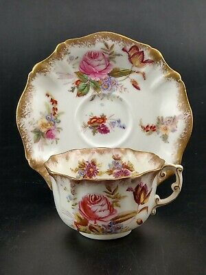 Hammersley Dresden Sprays Tea Cup And Saucer #4 • 32£