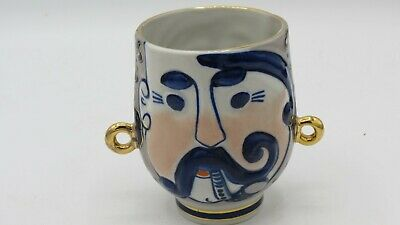 Vintage Russian Two Faced Mug Cup • 1£