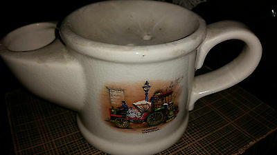 Retro Wade Shaving Mug With Picture Of La Mancelle By Bollee 1878 • 4.99£