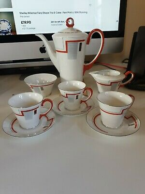 Art Deco Vintage Noritake Part Coffee Set • 2.40£