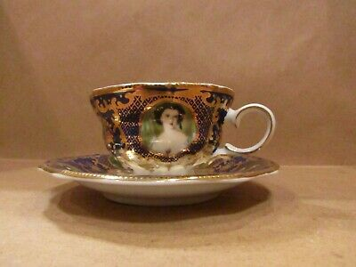 Orchid Designs Fine Porcelain Cup And Saucer • 25£