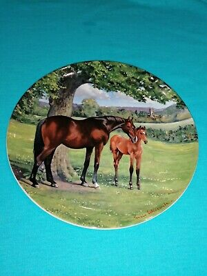 Spode 1988 The Noble Horse Collection By Susie Whitcombe LTD ED. 8.5  PLATE VGC  • 4.40£