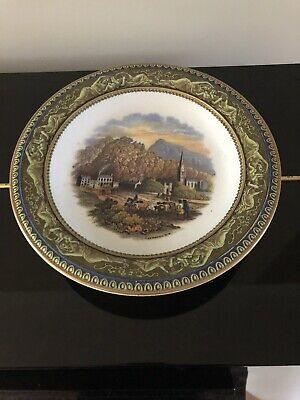 Collectible Antique Tremadoc North Wales Prattware Footed Plate Cake Stand 1890s • 29.99£